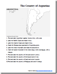 map of argentina airports salta province